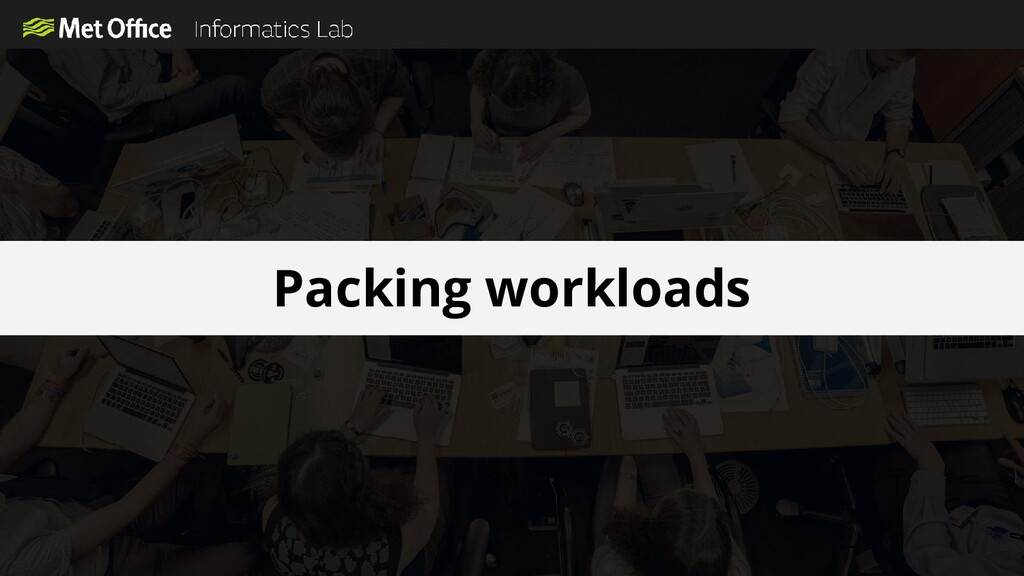 Packing workloads