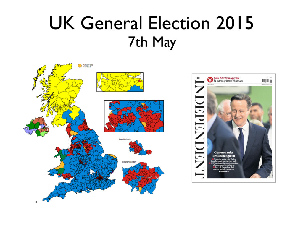 UK General Election 2015 7th May