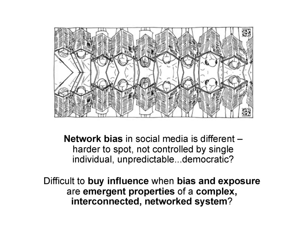 Network bias in social media is different – har...