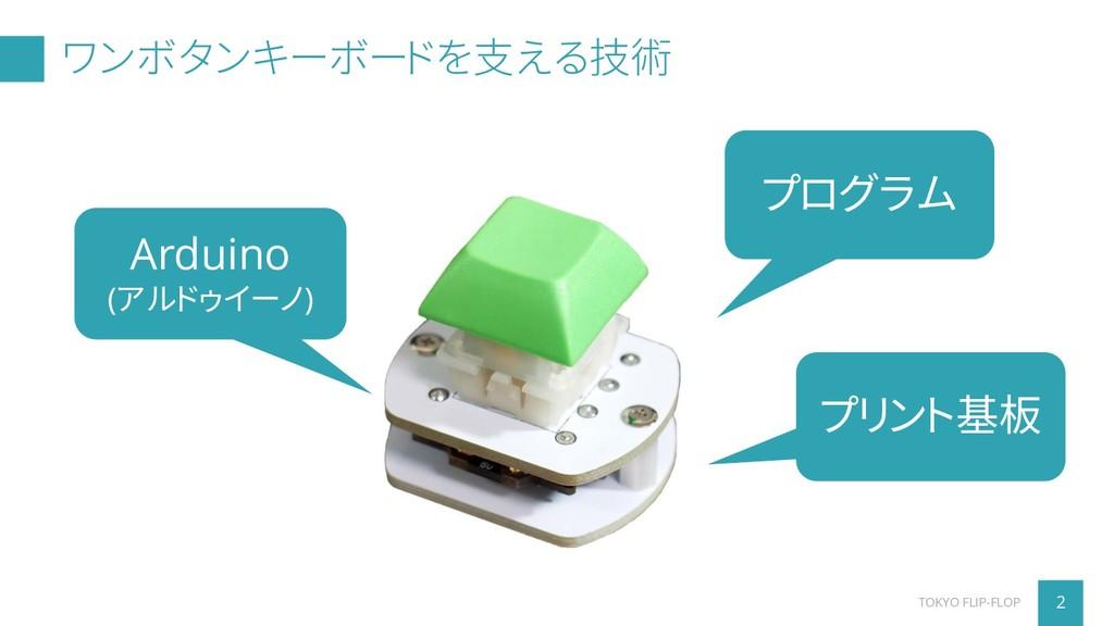 ワンボタンキーボードを支える技術 プログラム Arduino (アルドゥイーノ) プリント基板...