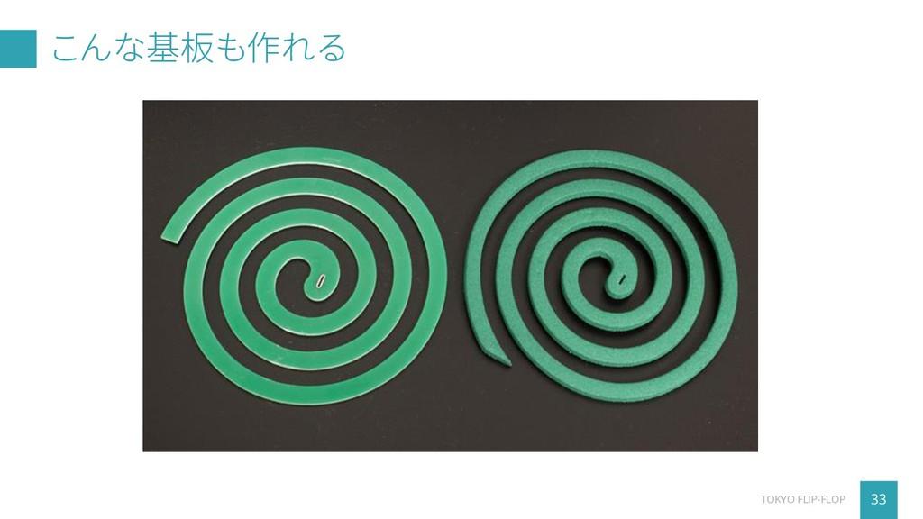 こんな基板も作れる 33 TOKYO FLIP-FLOP