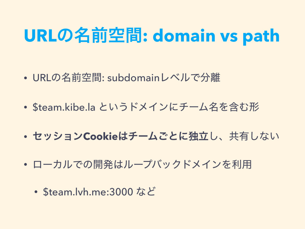 URLͷ໊લۭؒ: domain vs path • URLͷ໊લۭؒ: subdomainϨ...