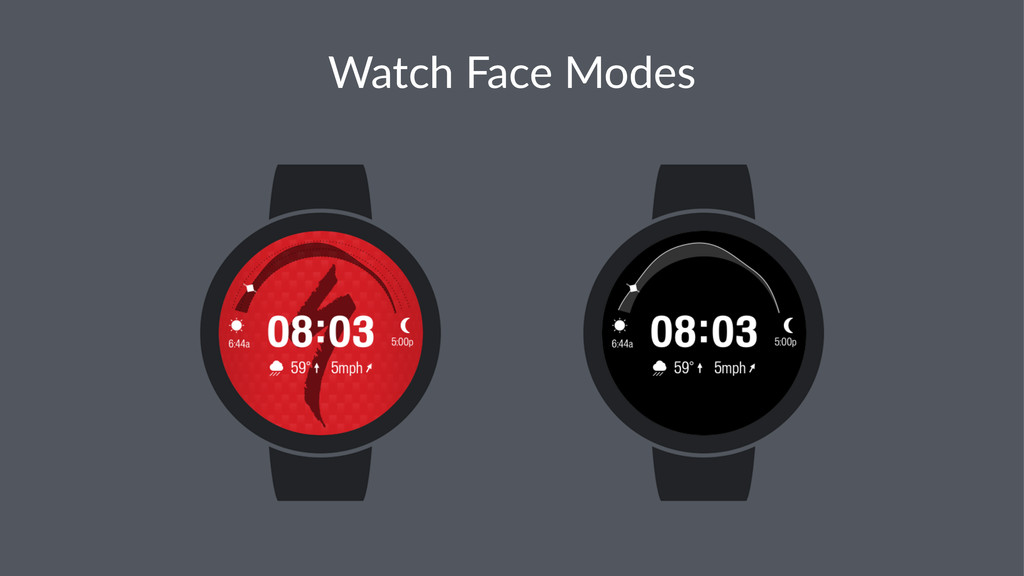 Watch&Face&Modes
