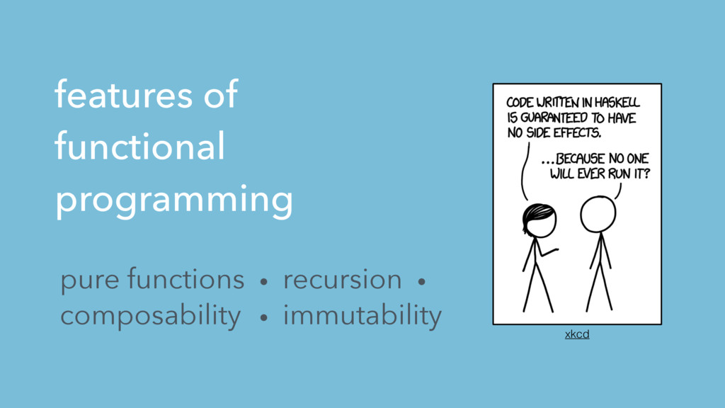 features of functional programming pure functio...
