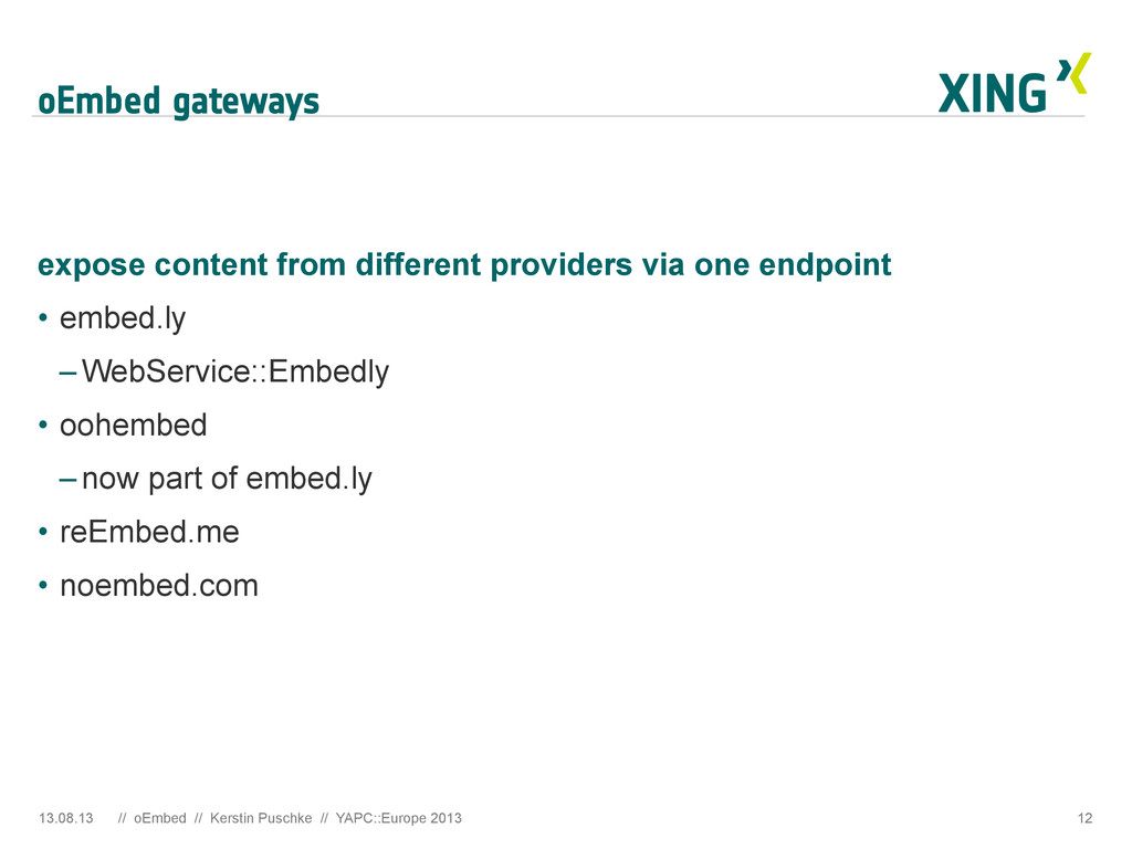 oEmbed gateways expose content from different p...