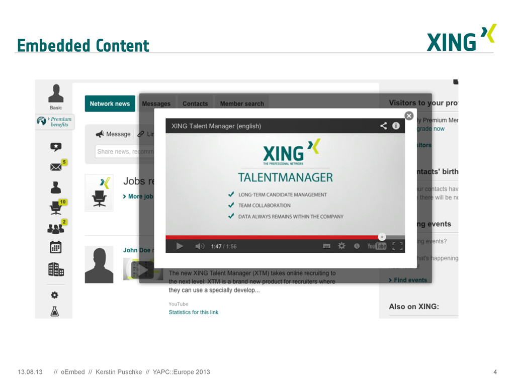 Embedded Content 4 13.08.13 // oEmbed // Kersti...