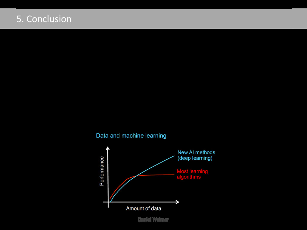 5. Conclusion Conclusion • Deep Learning pushes...