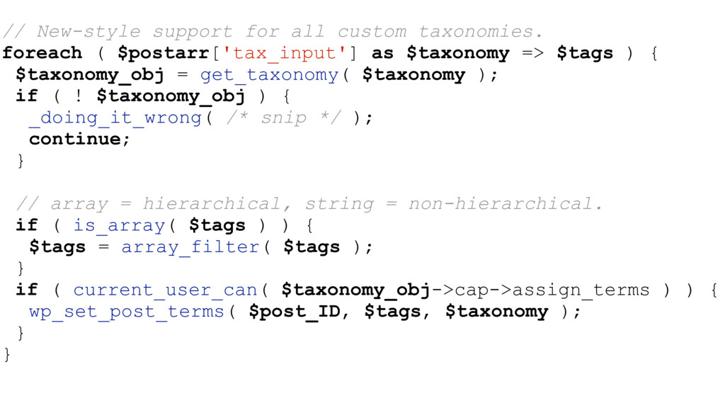 // New-style support for all custom taxonomies....