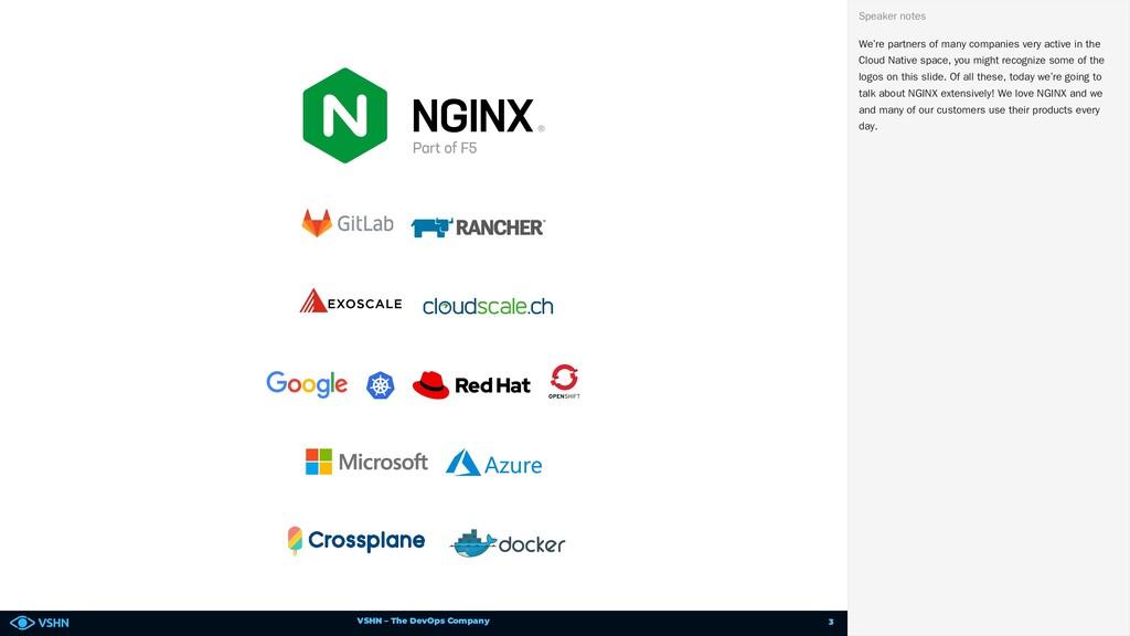 VSHN – The DevOps Company We're partners of man...