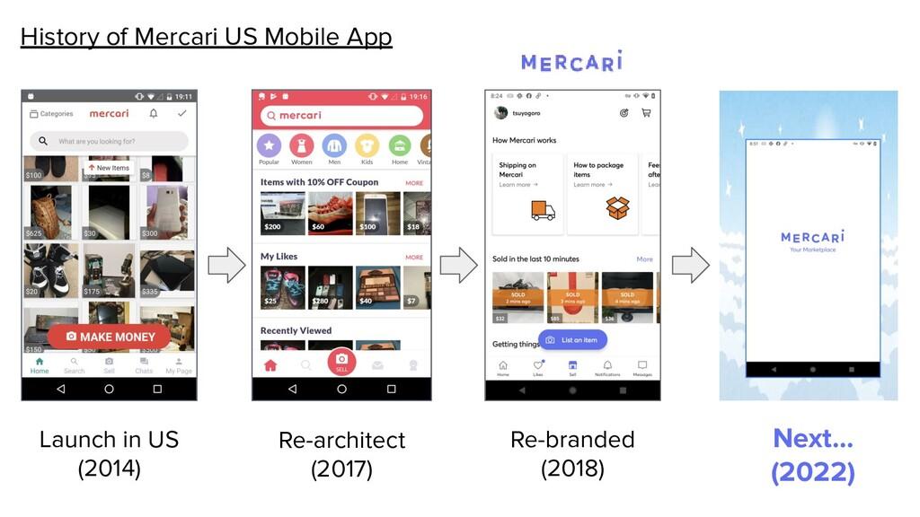 History of Mercari US Mobile App Launch in US (...