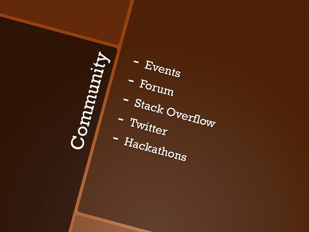 Community -  Events -  Forum -  Stack Overflow ...