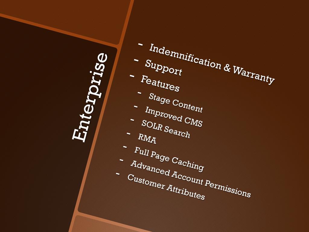 Enterprise - Indemnification & Warranty - Sup...