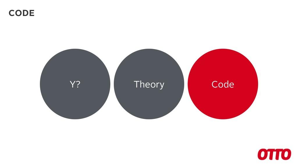 Y? Theory Code CODE