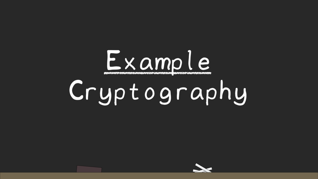Example Cryptography