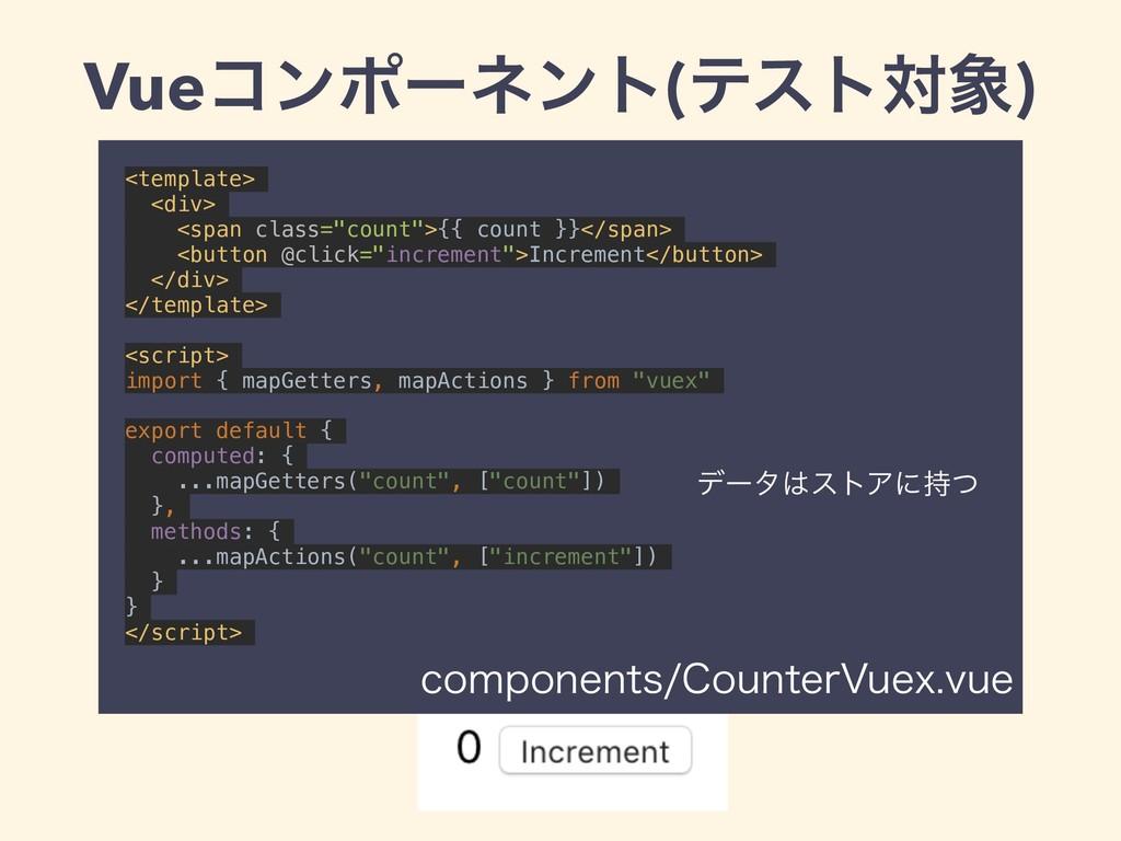 Vueίϯϙʔωϯτ(ςετର) <template> <div> <span class=...