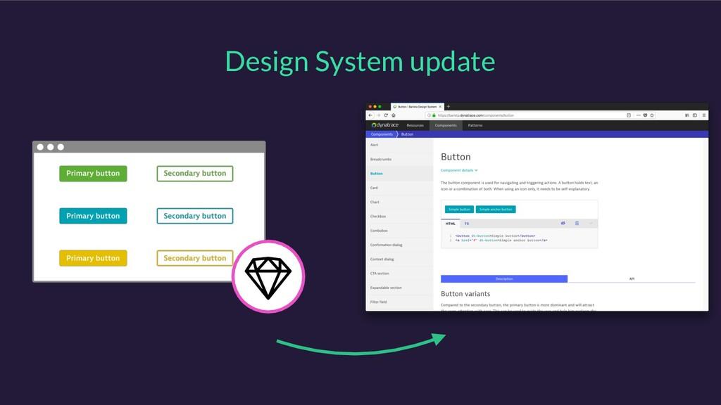 Design System update