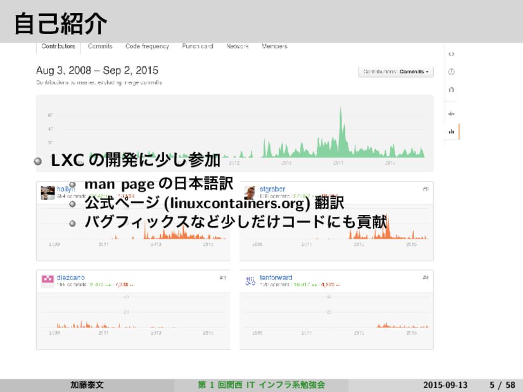 ࣗݾհ LXC ͷ։ൃʹগ͠Ճ man page ͷຊޠ༁ ެࣜϖʔδ (linuxco...