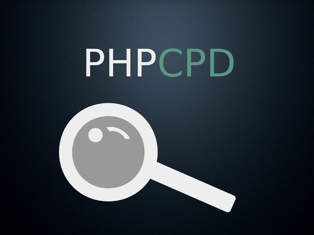 PHPCPD