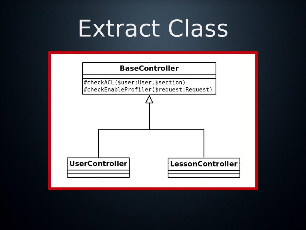 Extract Class