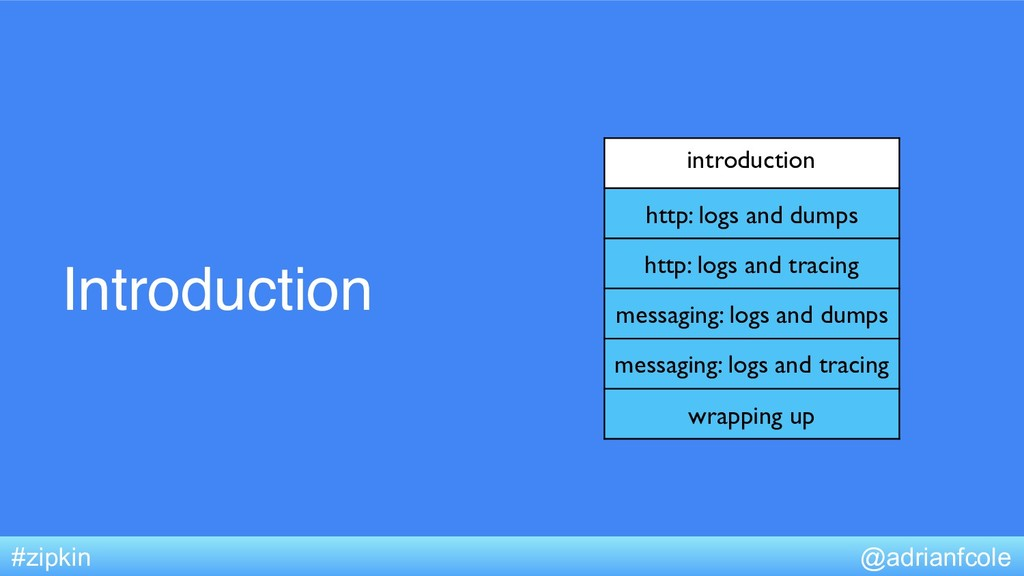 Introduction introduction http: logs and dumps ...