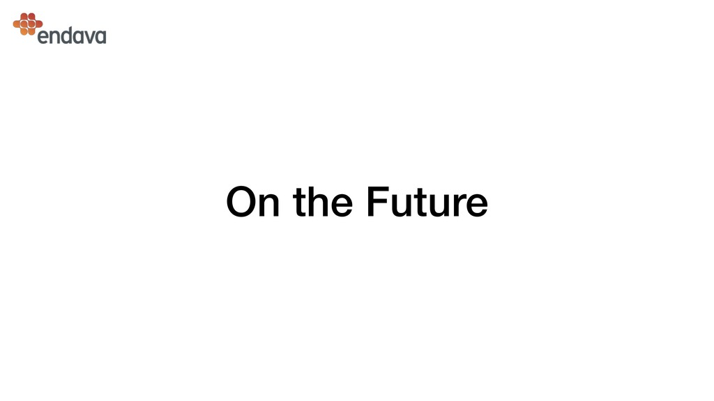 On the Future