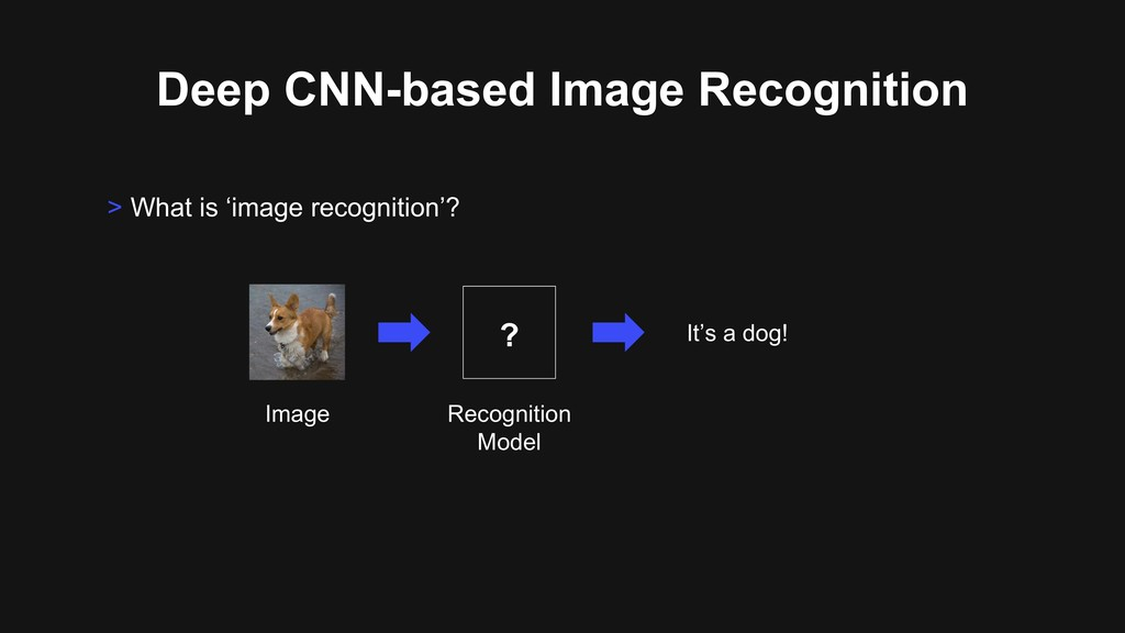 Deep CNN-based Image Recognition > What is 'ima...