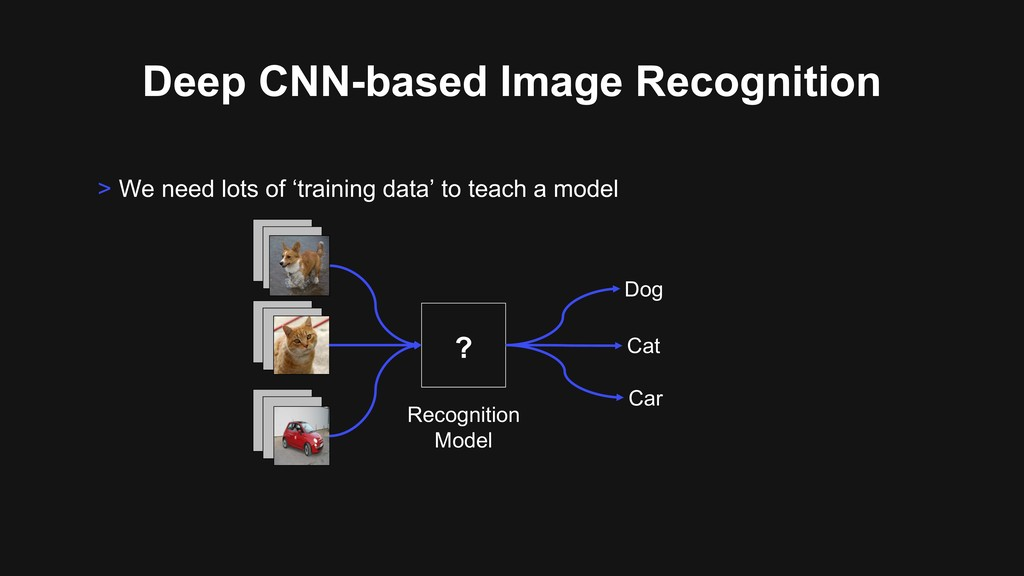 Deep CNN-based Image Recognition > We need lots...