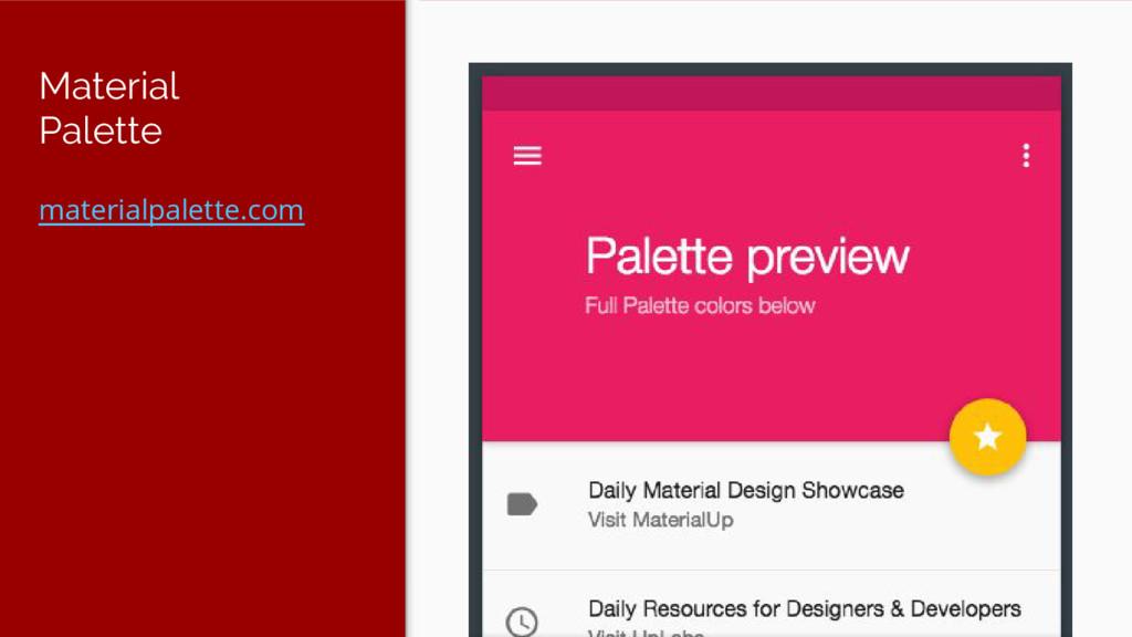 Material Palette materialpalette.com