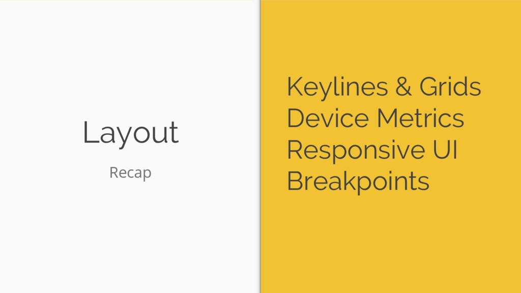 Layout Keylines & Grids Device Metrics Responsi...
