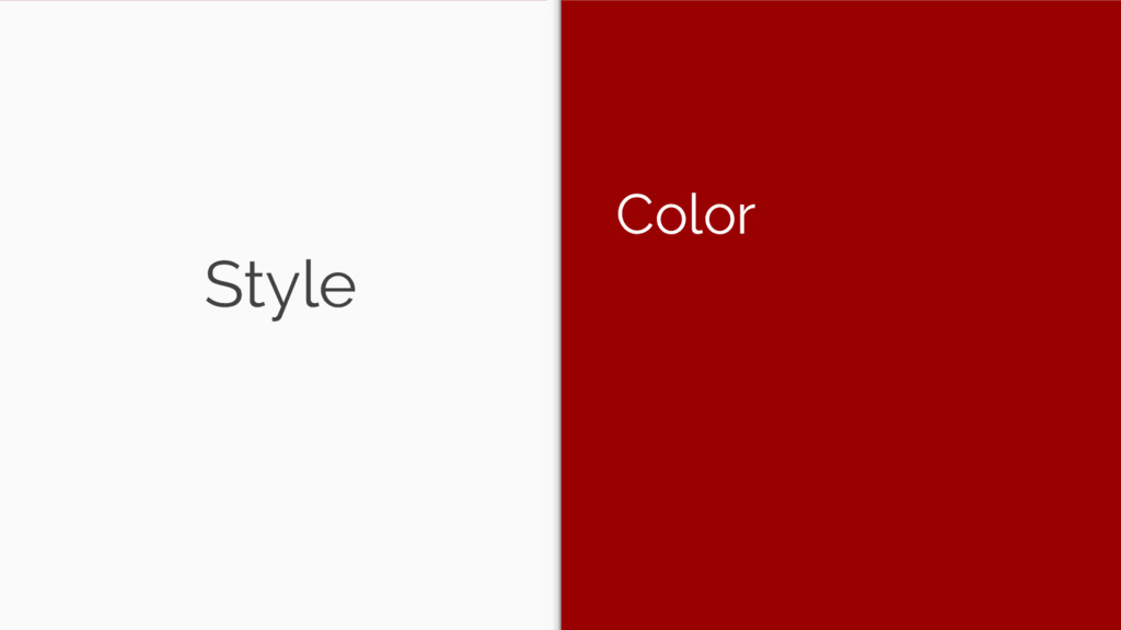 Style Color