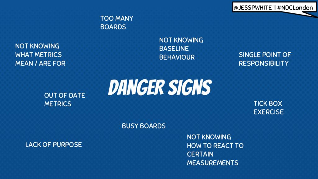 DANGER SIGNS @JESSPWHITE | #NDCLondon BUSY BOAR...