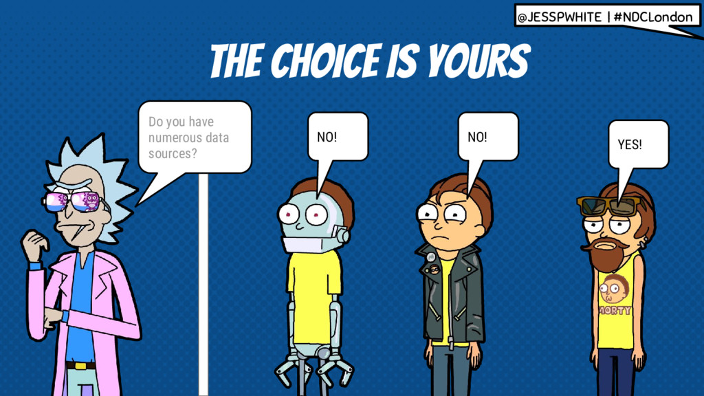 THE CHOICE IS YOURS YES! NO! NO! Do you have nu...
