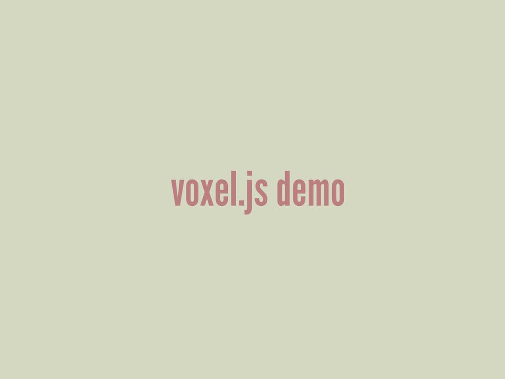 voxel.js demo