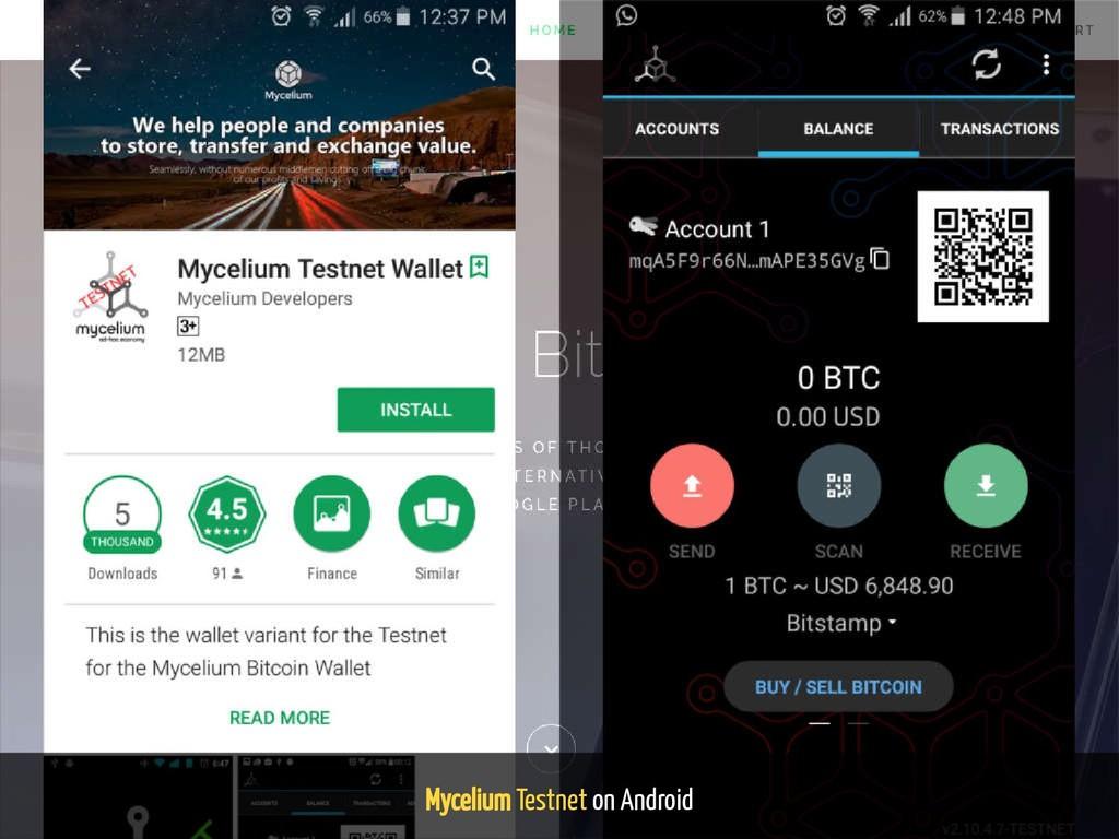 Mycelium Testnet on Android 128 / 139
