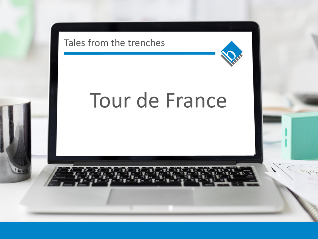 Tales from the trenches Tour de France