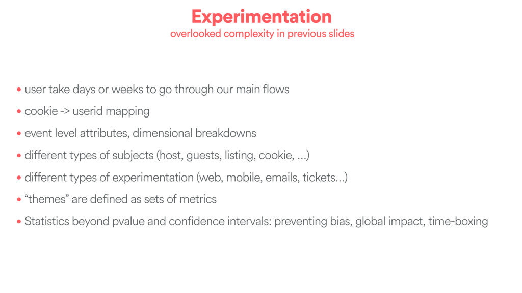Experimentation overlooked complexity in previo...