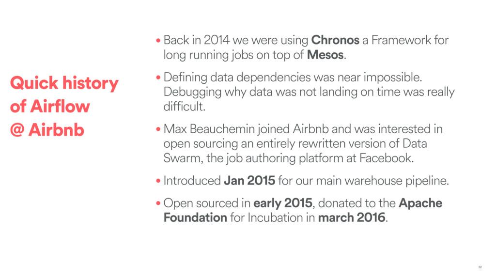 • Back in 2014 we were using Chronos a Framewor...