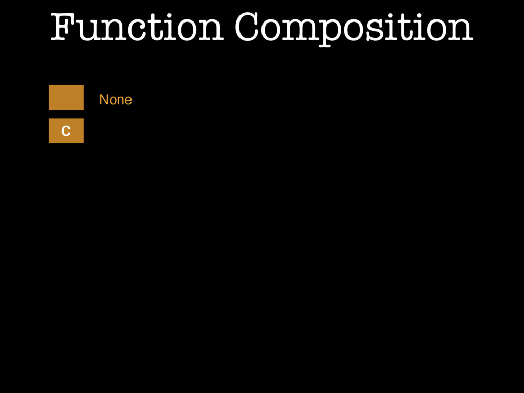 Function Composition C None