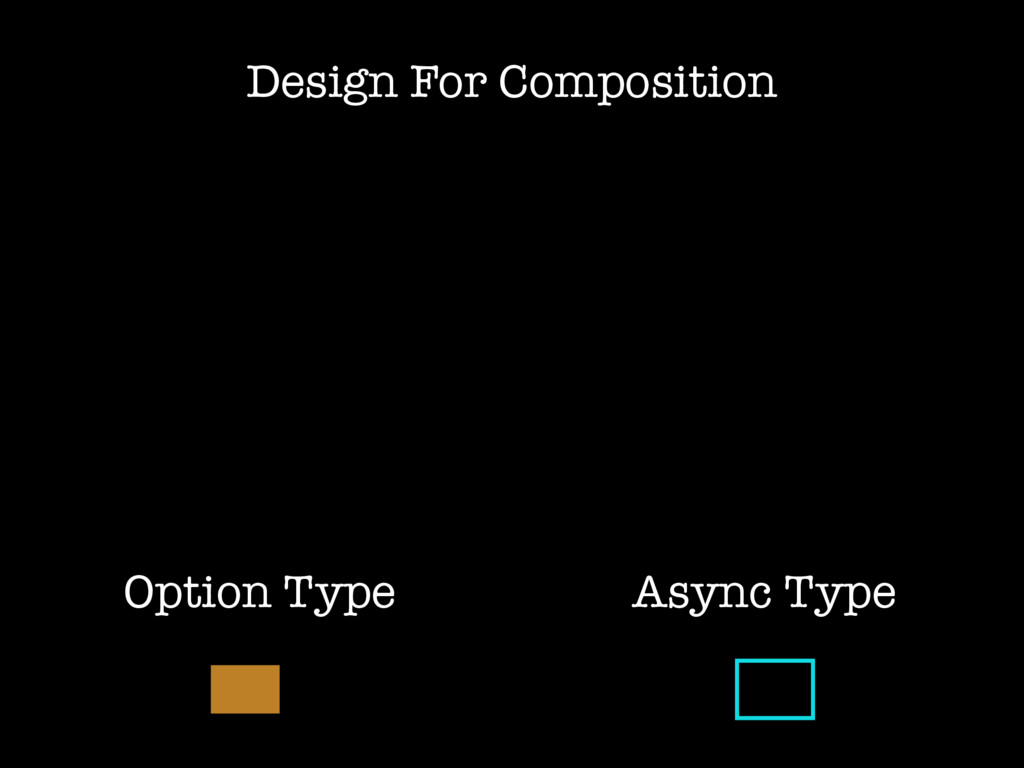 Design For Composition Async Type Option Type