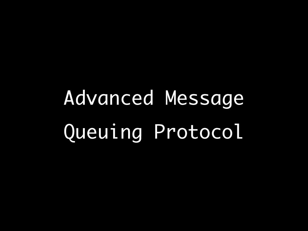 Advanced Message