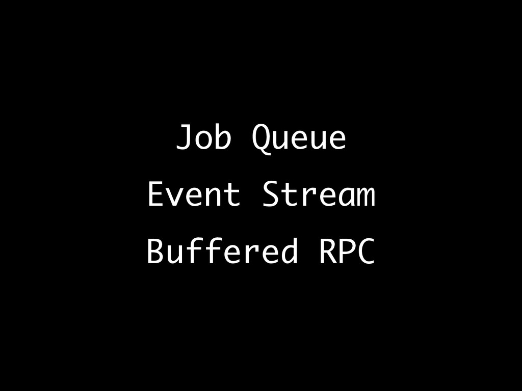 Job Queue