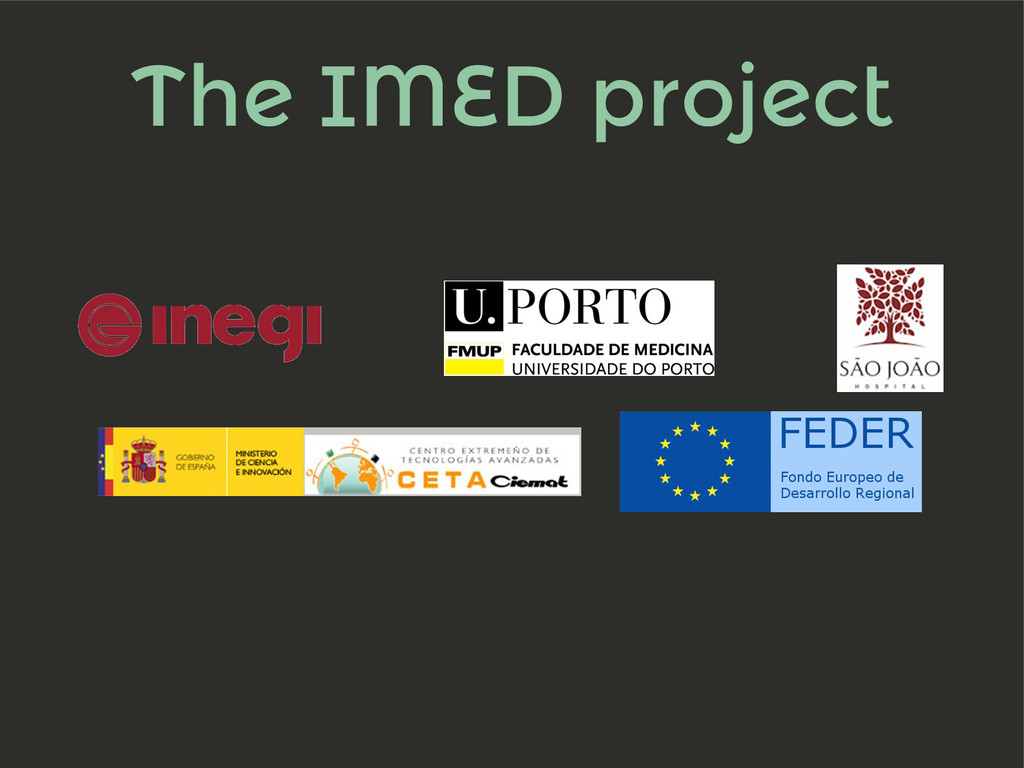 The IMED project