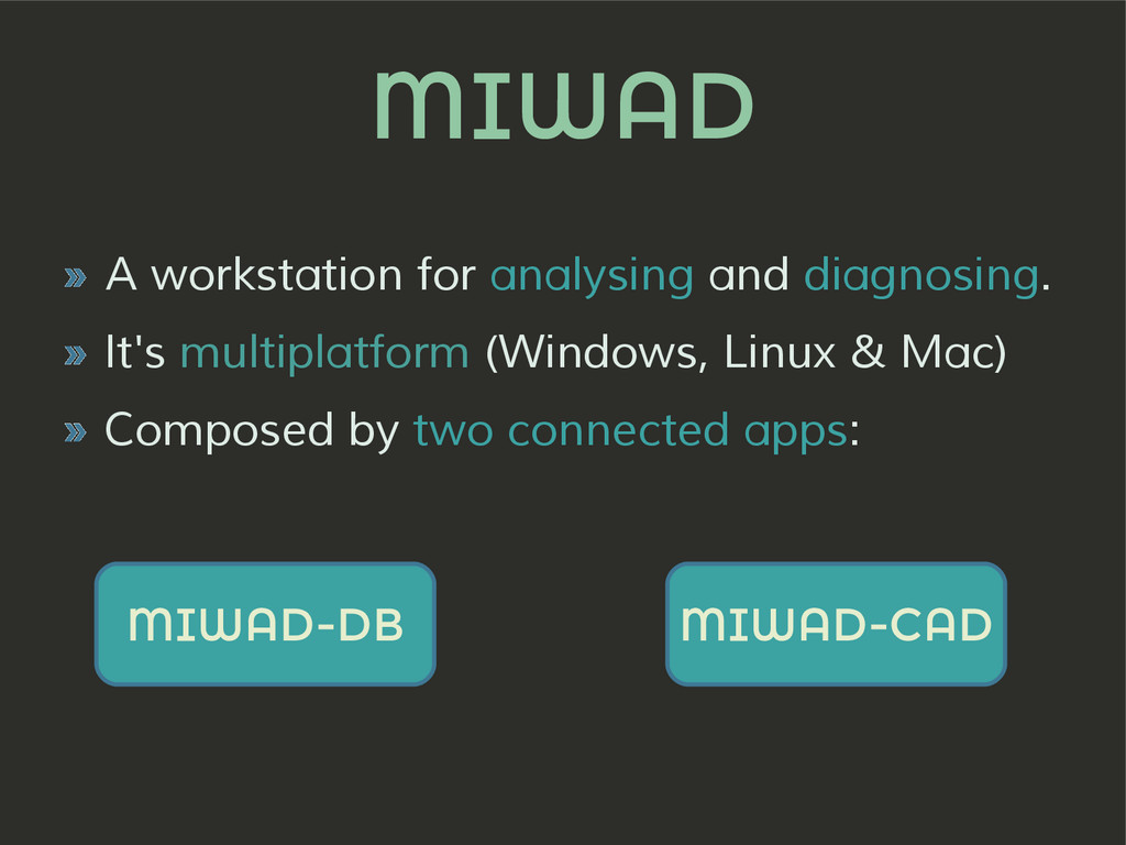 MIWAD » A workstation for analysing and diagnos...