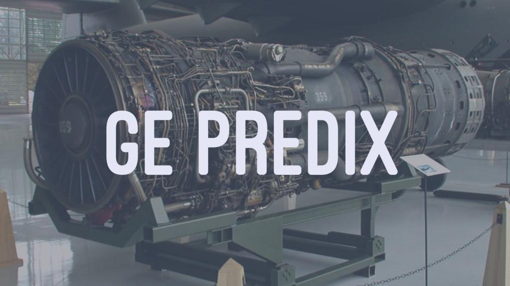 GE PREDIX