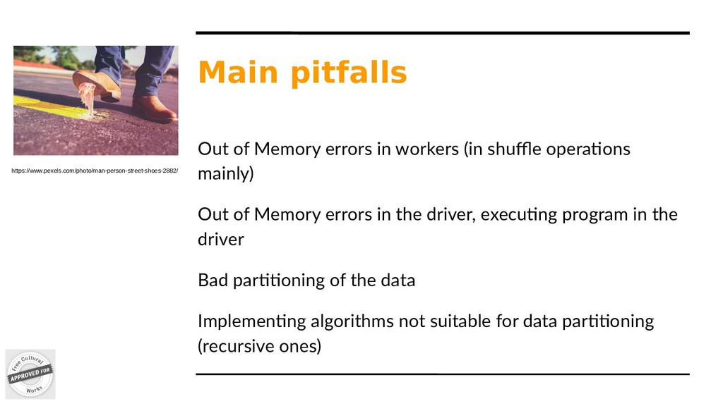 Main pitfalls Out of Memory errors in workers (...