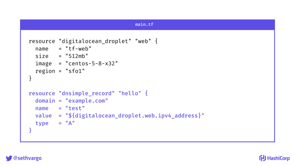 "@sethvargo resource ""digitalocean_droplet"" ""we..."