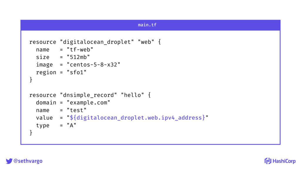 "@sethvargo resource ""digitalocean_droplet"" ""we..."