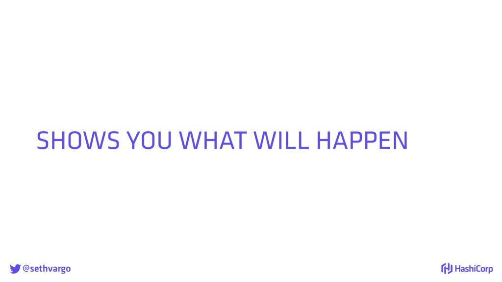 @sethvargo SHOWS YOU WHAT WILL HAPPEN
