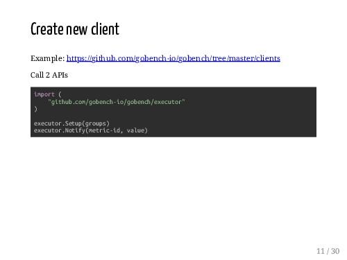 Create new client Example: https://github.com/g...