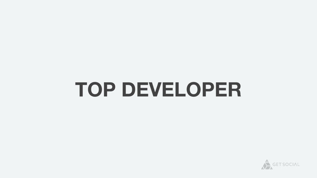 TOP DEVELOPER